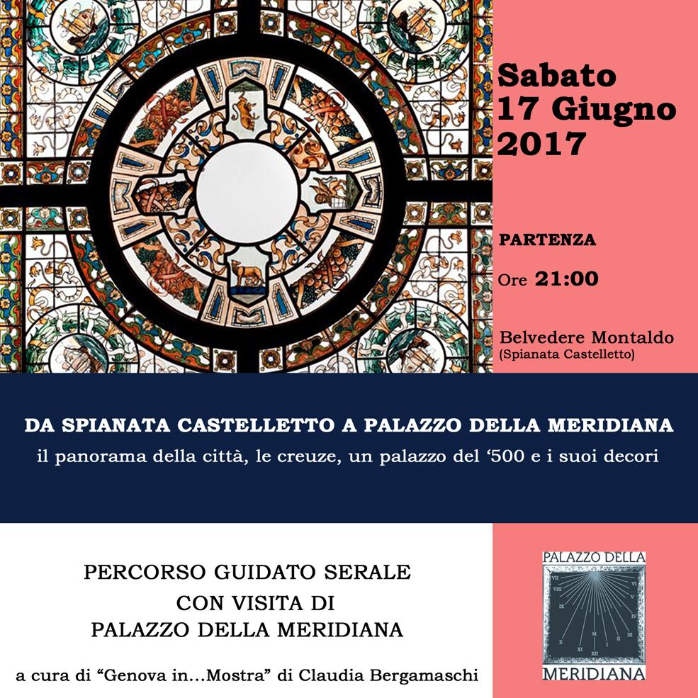 Percorso guidato17GIUGNO2017_da spianata castelletto a Palazzo della Meridiana