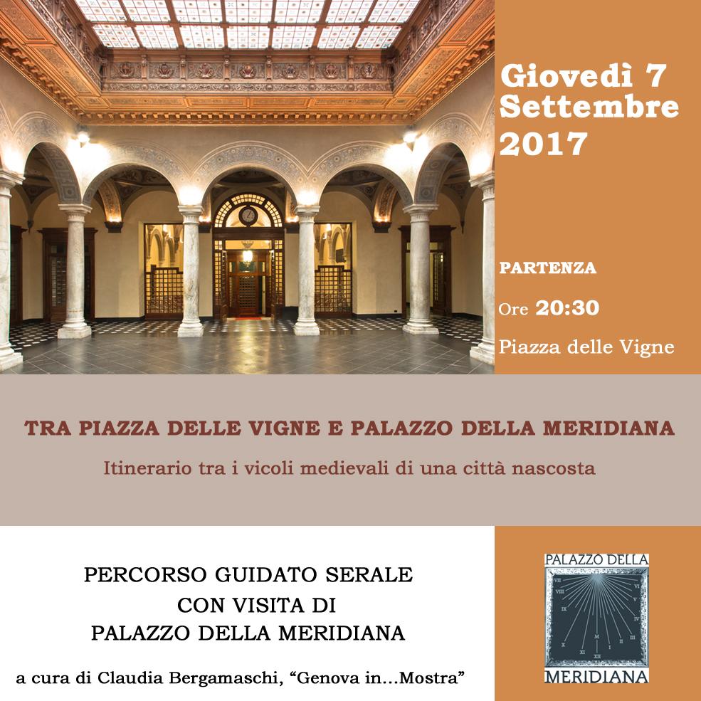 Percorso guidato7SETT2017_tra piazza delle vigne e palazzo della meridiana