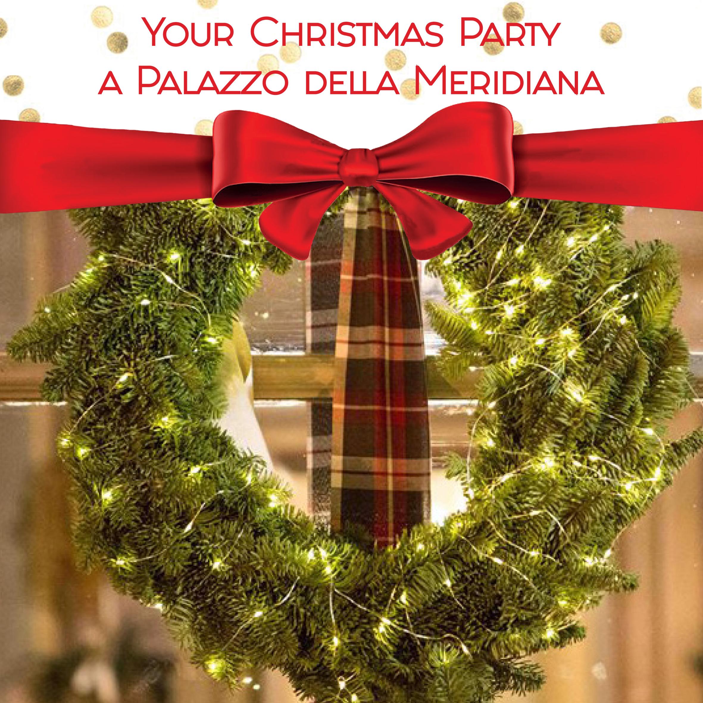Promozione Your Christmas Party a Palazzo della Meridiana_Copertina