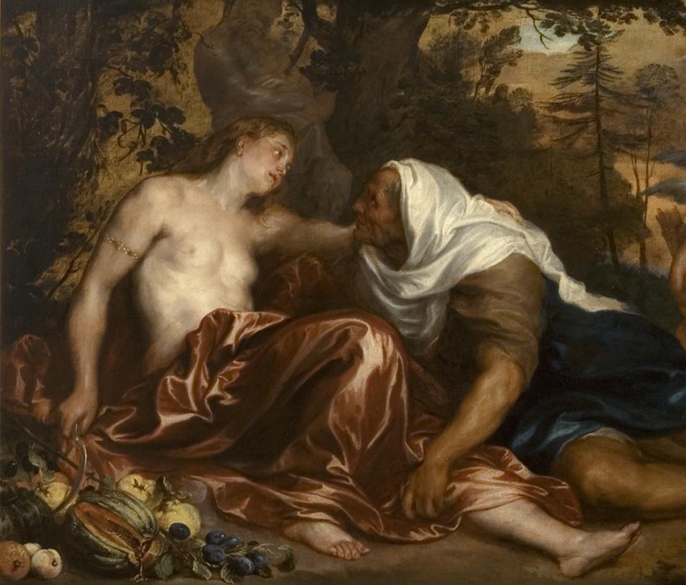 05_Van Dyck_Vertumno e Ponoma