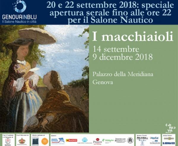 20 22 sett 2018_speciale apertura serale_macchiaioli_genovainblu_560x427
