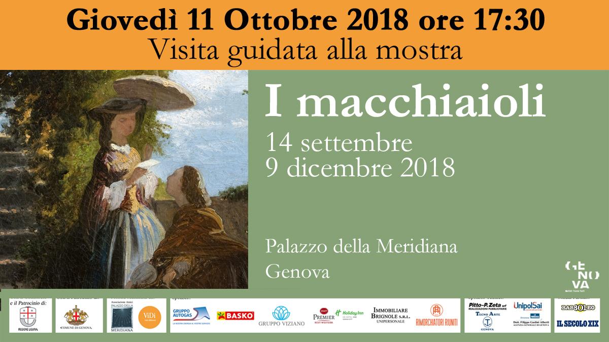 Immagine EventoFB Visita 11OTT2018 Macchiaioli