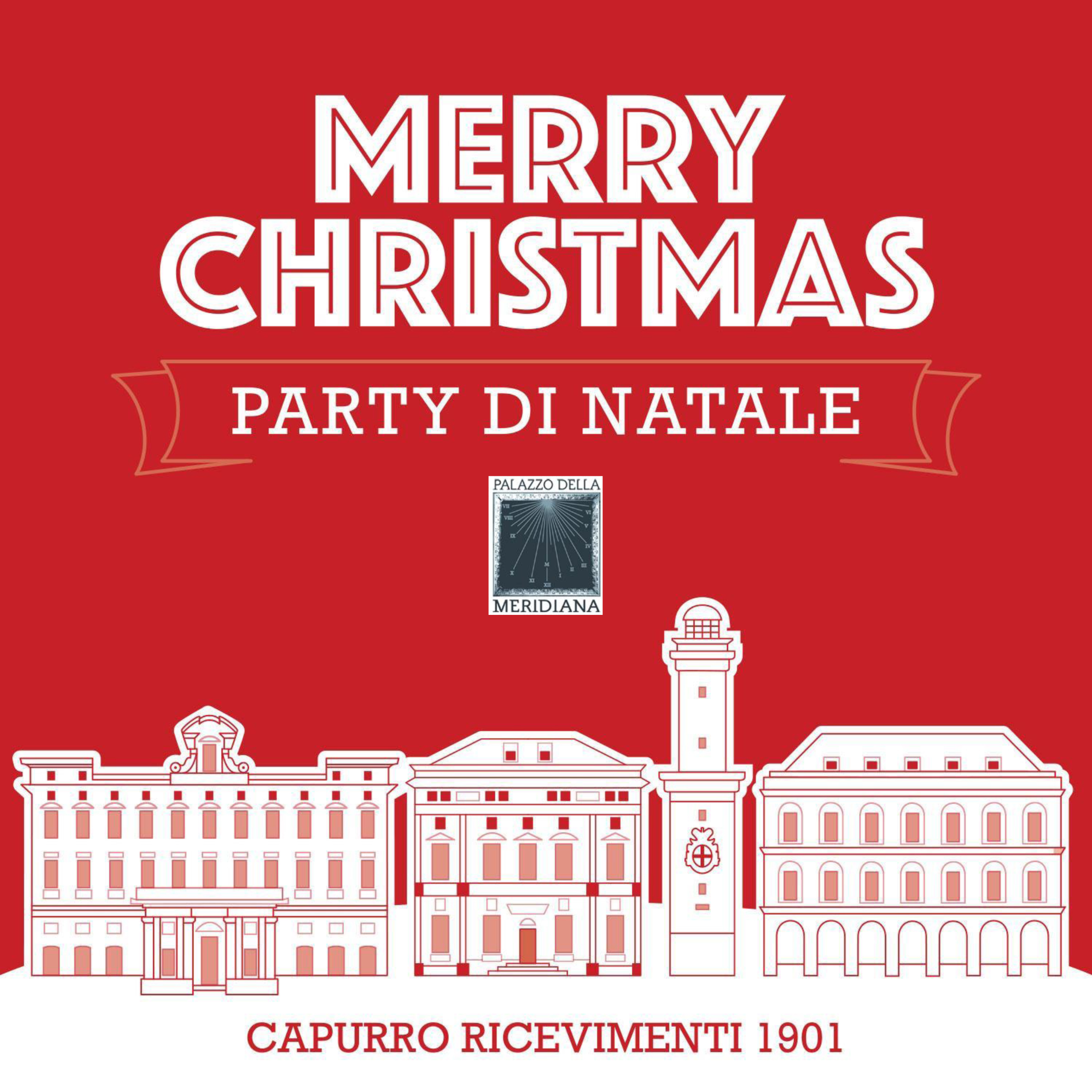 Christmas party Palazzo Meridiana