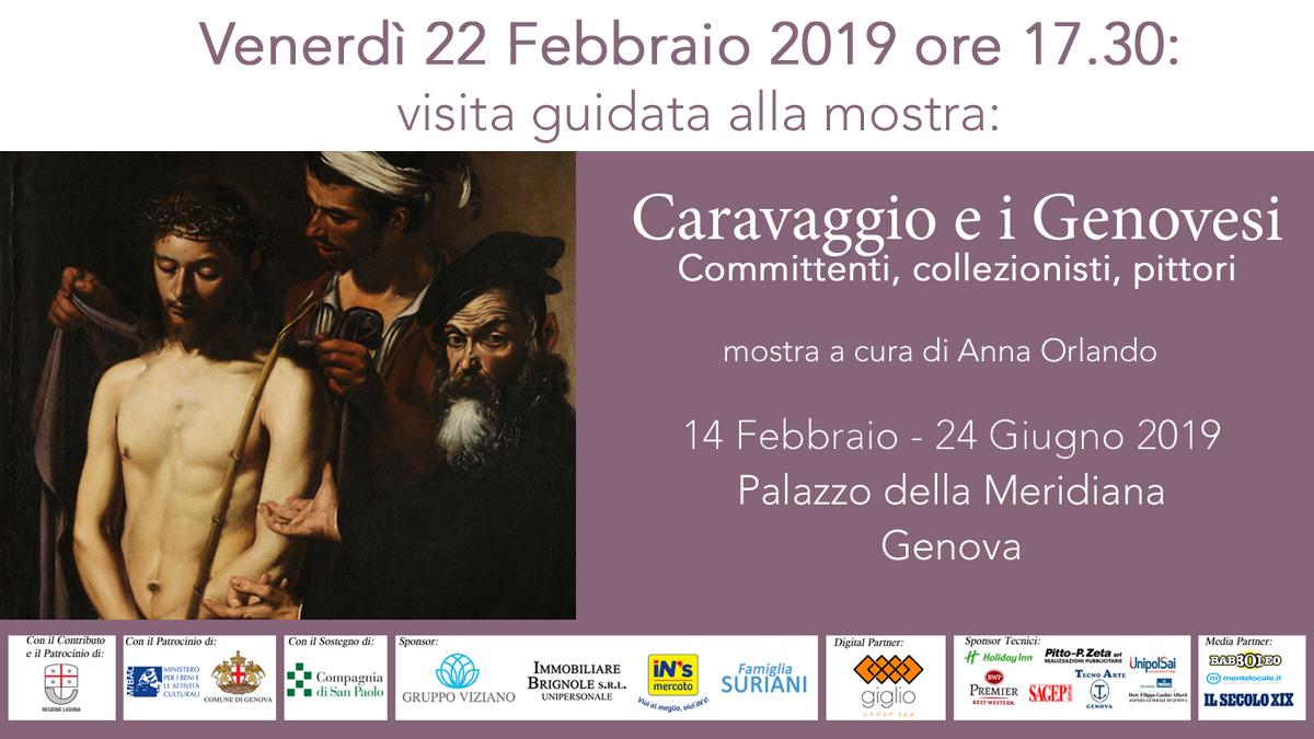 visita 22 febbraio mostra Caravaggio e i Genovesi