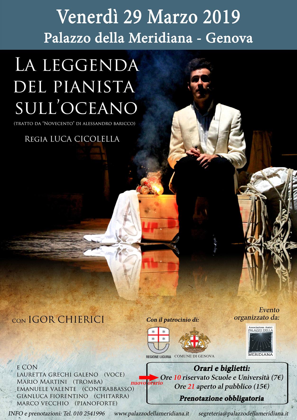 locandina spettacolo Il pianista sull'oceano con tariffe_patrocinio Regione+Comune_nuovo Orario