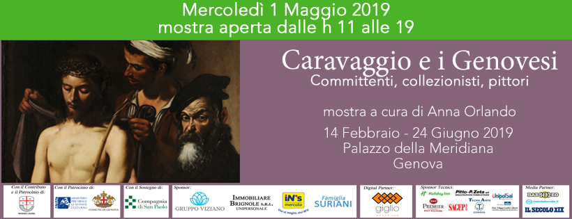 1 maggio con Caravggio e i Genovesi_fcb