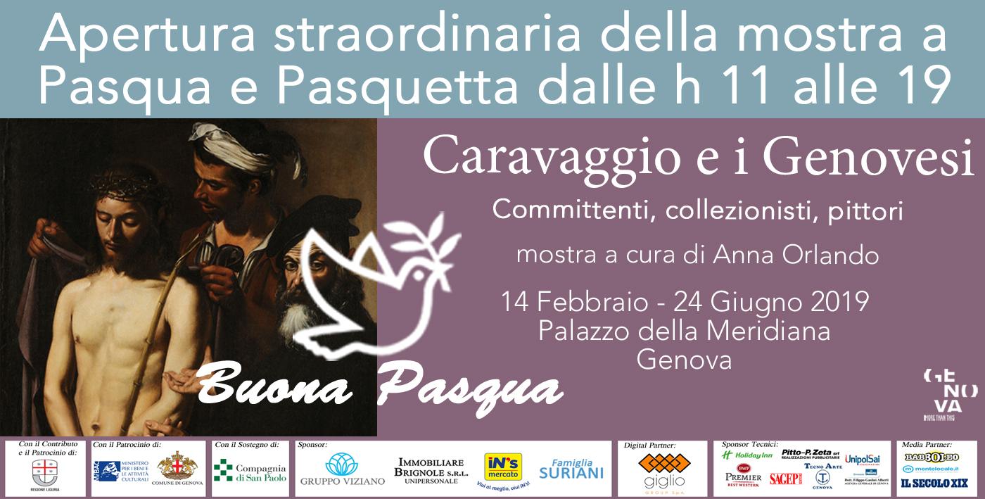 Pasqua e Pasquetta con Caravggio e i Genovesi