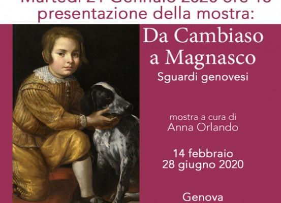 21 gennaio presentazione mostra Da cambiaso a Magnasco